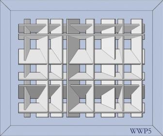 White Wall Panel 5 - € 599,-