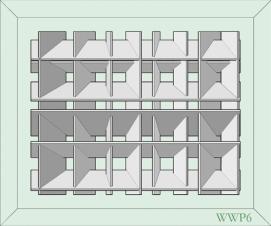 White Wall Panel 6 - € 599,-
