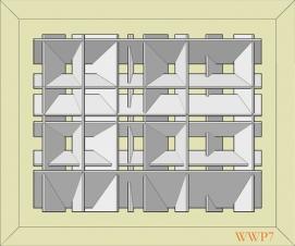 White Wall Panel 7 - € 599,-